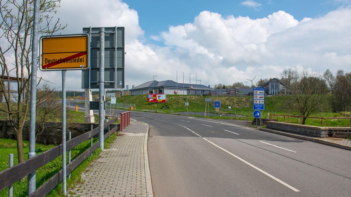 Brief Von Luxemburg Nach Deutschland : Hraniční přechody krušnohoří bez hranic